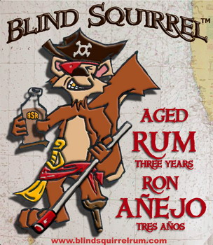 "Blind Squirrel Rum owns and markets the ""Blind Squirrel"" label for distilled spirits. BSR has selected for its first product a fine amber rum produced and bottled by Don Perfil in Veracruz, Mexico and imported by Kodiak Imports. BSR is currently working with Kodiak Imports to identify other distilled spirits worthy of the Blind Squirrel label. Plans are in the works for ""Old Blind Squirrel Rum"", i.e., aged longer. If you're not a fan of rum, stay tuned for ""Blind Squirrel Tequila"", ""Blind Squirrel Vodka"", and more..."